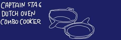 キャプテンスタッグ・ダッチオーブンコンボクッカーの手入れや使い方、キッチンでの料理レシピなどのまとめ