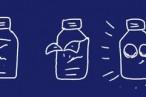 塗装剥がし不要でピカピカ!のアルミ缶発見。厚くて強度も高くいい感じ。 – 空き缶でアルコールストーブ(コンロ)自作。
