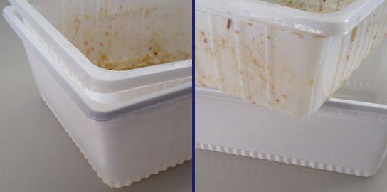 ぺヤング ポテトやきそば 二重構造容器