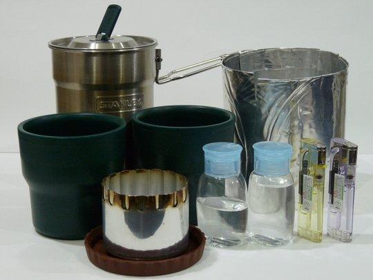 スタンレー&アルコールストーブお茶セット
