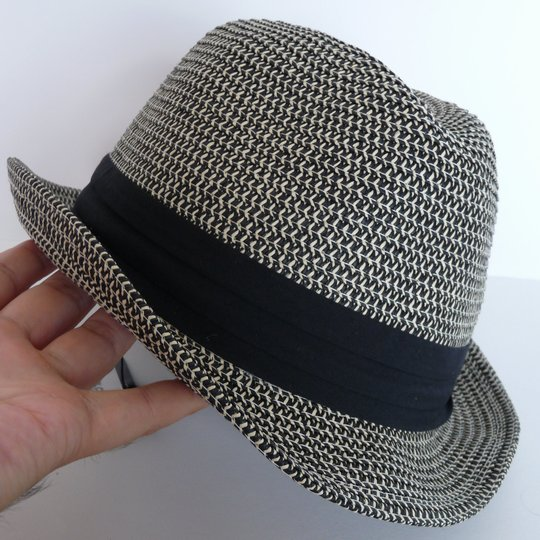 折りたたみ中折れ帽