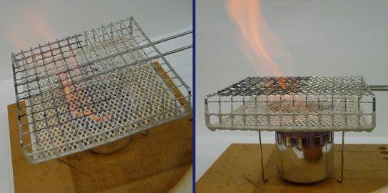 百均セラミック焼き網はアウトドア用トースターの代わりになるかな?