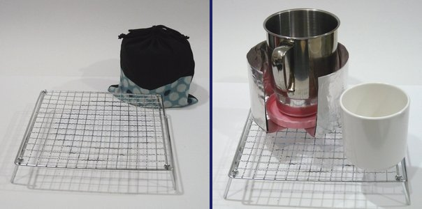 ハイキング料理用軽量コンパクト折りたたみテーブル代用品