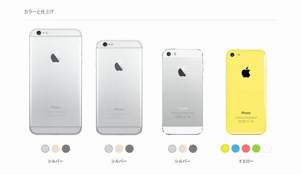 iPhone 5c, 5s, 6, 6 Plus