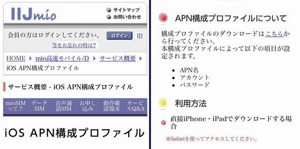 IIJmioプリペイドの開通手続きとiPhone 5s