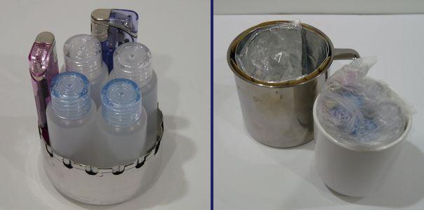 100均ボトルに燃料用アルコールを1ヶ月保管