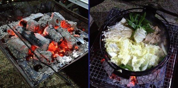 すき焼き鍋で普通にすき焼き。