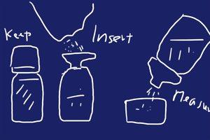 SiSO-LAB 100均お米保存ペットボトルキャップ&ロート