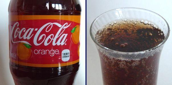 コカ・コーラ オレンジ味