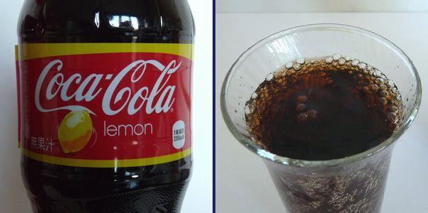 コカ・コーラ レモン味