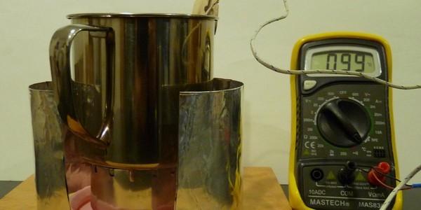 SiSO-LAB グルーブストーブで火力調整実験