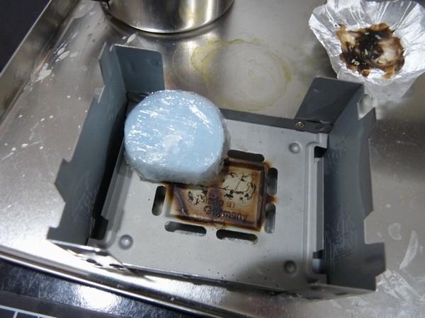 SiSO-LAB ESBITポケットストーブ、固形燃料で湯沸しテスト