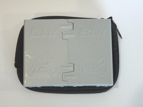 SiSO-LAB ESBITポケットストーブ、厚みとかサイズとか