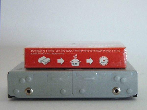 SiSO-LAB ESBITポケットストーブ開封の儀