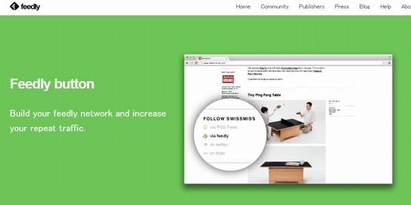 WordPressブログにFeedly購読ボタンを設置
