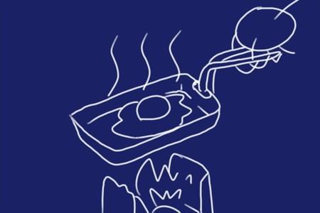 SiSO-LAB 100均グッズ(フライパン無し)で目玉焼き
