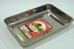 百均浪漫◆オーブンOK!ステンレス角型バット約145×212mm。日本製 @100均ダイソー
