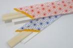 百均浪漫◆箸置きが作れるから袋付がうれしいかな、和柄(古風柄)わりばし60膳 @100均ダイソー