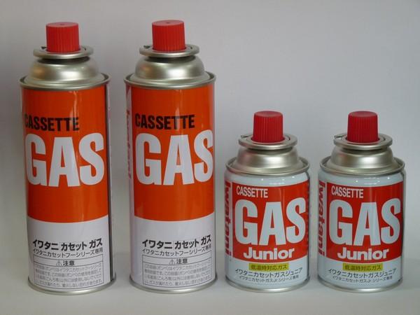 SiSO-LAB カセットガス缶が空になる時間を予想