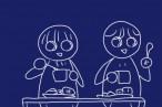 小さな子供でも熱いスープを持てる!キャンプで便利、重ね収納可能な約350ml樹脂製カップ