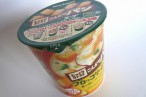 百均浪漫◆安い!濃厚でおいしいカップスープ、じっくりコトコトこんがりパンブロッコリーチーズポタージュ @100均セリア