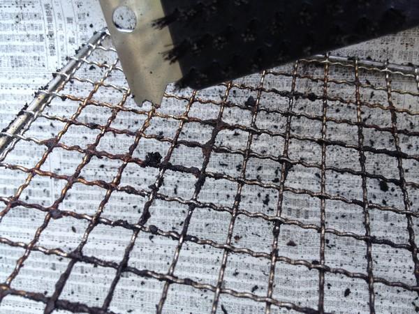 SiSO-LAB BBQ焼き網掃除はセスキ炭酸ソーダが吉