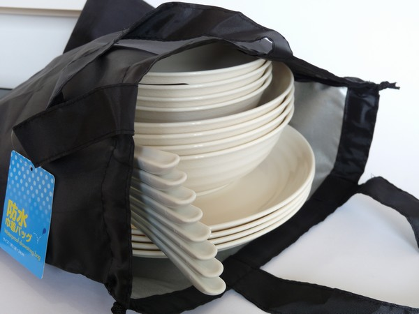 SiSO-LAB☆100均で日本製キャンプ用食器セット