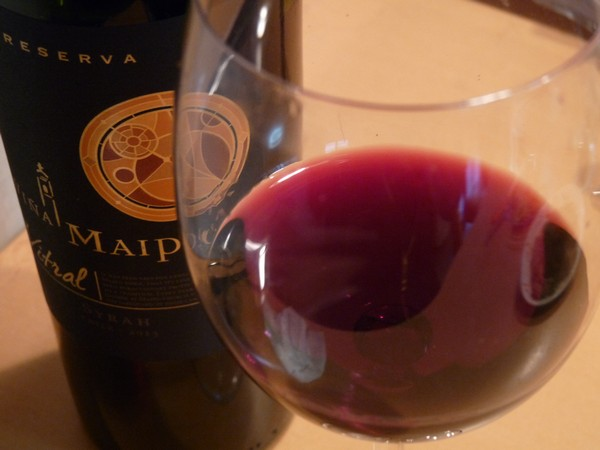 SiSO-LAB☆安くて美味しいチリ産ワイン。ビニャ マイポ レセルバ ビトラル シラー