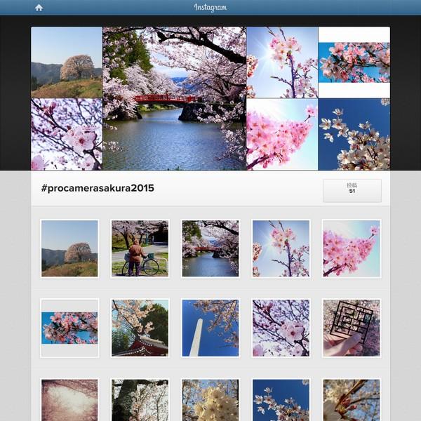 SiSO-LAB☆ProCameraフォトコンテスト桜2015