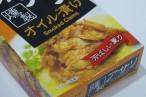 百均浪漫◆うれしく予想に反してアサリぎっしり!燻製アサリのオイル漬け缶詰 @100均オレンジ