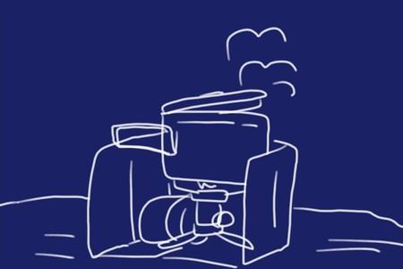 アウトドアバーナー用の100均ウインドスクリーン(風防)が風で動かないようにちょっと改良してみたり。