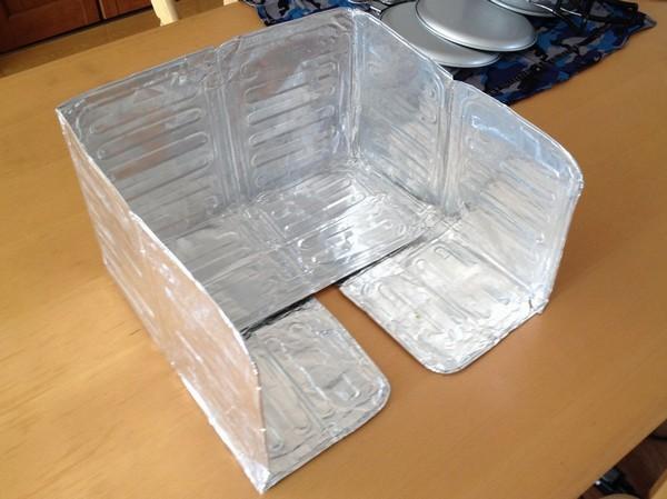 SiSO-LAB☆アウトドアバーナー用100均風防の改良とか