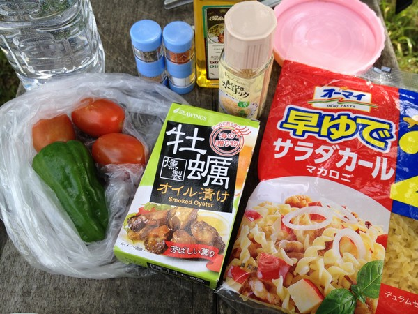 SiSO-LAB☆ハイキング料理・牡蠣のワンポットパスタ