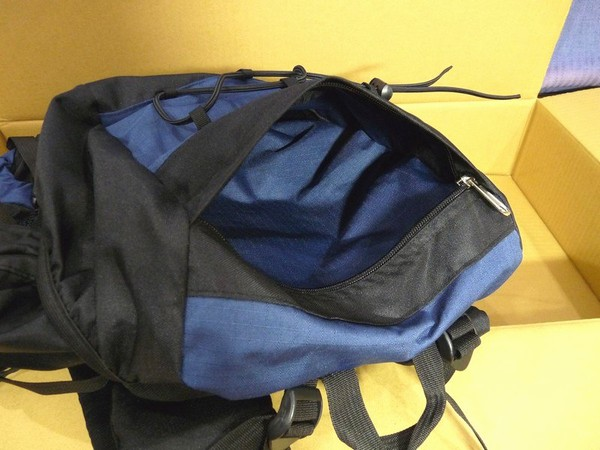 SiSO-LAB☆Blue Buckバックパック55L