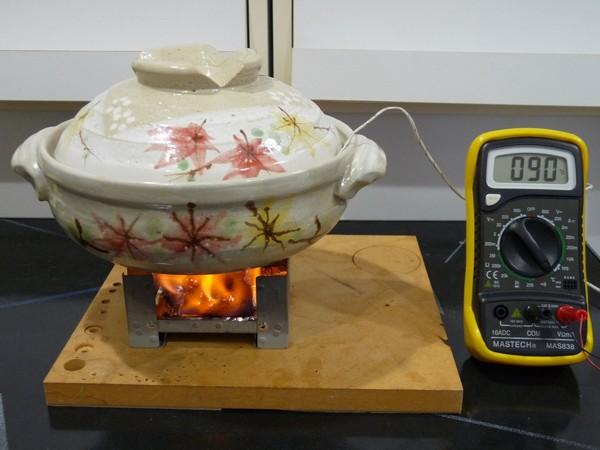 SiSO-LAB☆100均パック燃料27gと土鍋で炊飯できるかな?