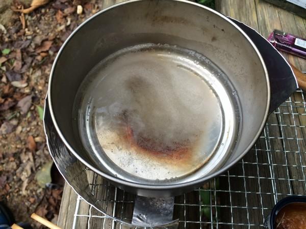SiSO-LAB☆ハイキング料理♪焼サンマのおろし雑炊・梅風味