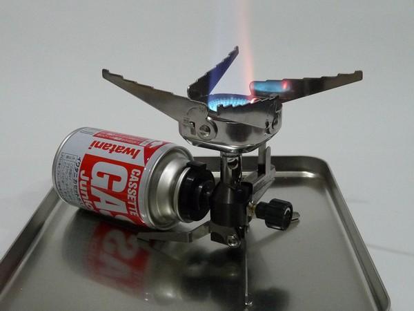 SiSO-LAB☆イワタニ ジュニアバーナー 100均CB缶でガス漏れする?