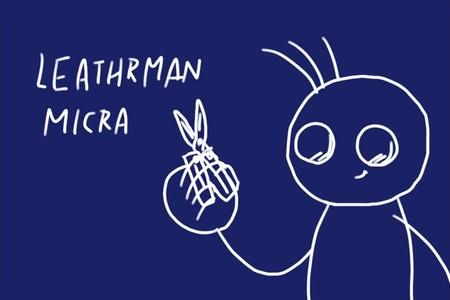 LEATHERMAN MICRA GREEN、しっかりした作りの小ぶりな折りたたみハサミ、何かと便利だね。