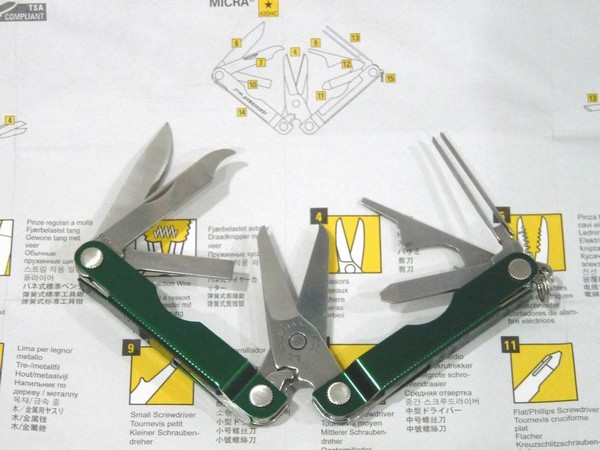 SiSO-LAB☆LEATHERMAN MICRA
