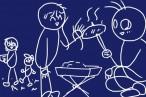 秋キャンプなら焚火!キャンパーズコレクションのBBQコンロ兼焚火台KL-001、2千円台前半(送料込)!安ぅ。
