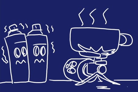 SiSO-LAB☆カセットボンベ缶の寒さへの強さ比較