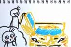 TOYz BAR◆スーパーカーっぽいミニ四駆!フェスタジョーヌ(FESTA JAUNE)を買ってみたよ。写真いっぱい組み立てレビューとか。