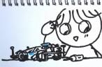 TOYz BAR◆小学3年生のSiSO-Jr.1、ミニ四駆にMAシャーシ ファーストトライパーツセットの組み付けで苦戦