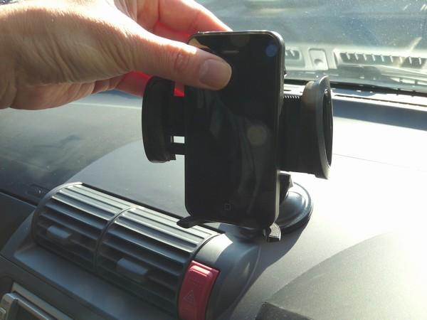 SiSO-LAB☆スマートフォン車載ホルダAUKEY HD-C4S