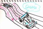 TOYz BAR◆ミニ四駆にアンダーガードを付けると確かにコースに引っかかっても戻りやすくなる。ネジ穴選択、結構むずかしいな。