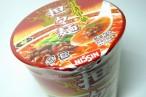 百均浪漫◆あっさりピリっとした辛さが美味しい!日清中華坦々麺 @100均 ローソン100