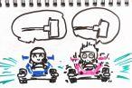TOYz BAR◆ミニ四駆のホイールがブレないよう、シャフトを差し込む方法。ある意味、まっすぐかな。