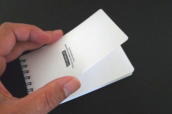 SiSO-LAB☆付箋ノート(付箋思帳)のモバイル化?ダイソーのA7ロングメモが付箋にちょうどいいサイズ!
