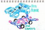 TOYz BAR◆ミニ四駆・バックブレーダーのクリアボディをMAシャーシやMSシャーシに載せる方法。簡単な加工でOK!