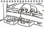 TOYz BAR◆ミニ四駆ジャパンカップジュニアサーキットの収納、ニトリのキャスター付ベッド下収納ボックス3つで収納する方法がおすすめ。